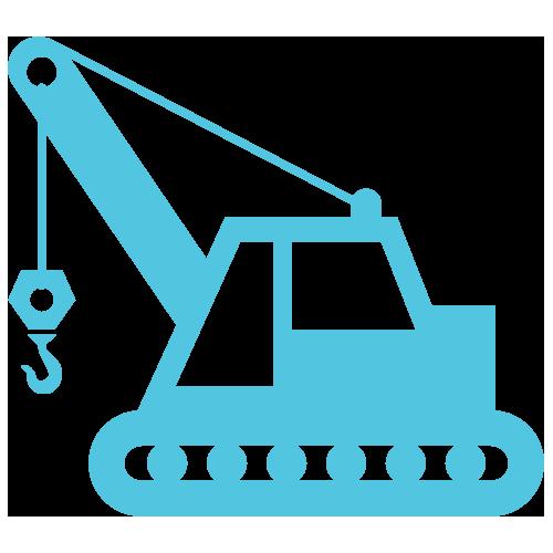 equipment hire icon