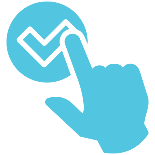fast bad credit loan approval icon