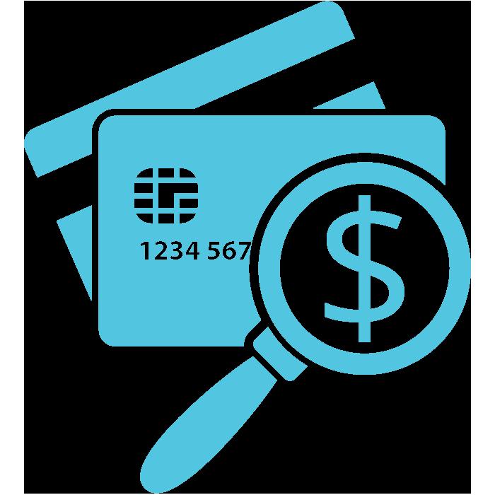 credit enquiry icon