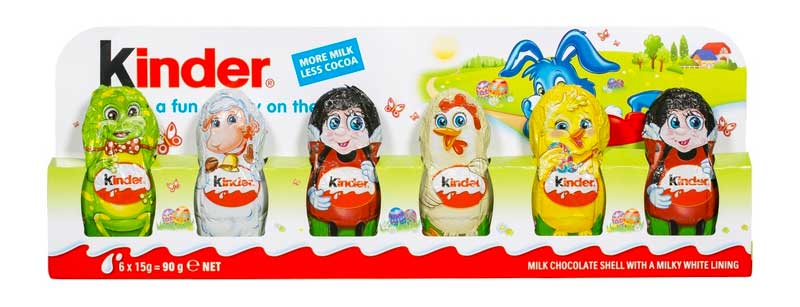 Kinder Easter Figurines are a great idea for $4.